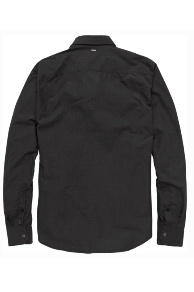 Pme legend fil a fil shirt ls pitch black - Pme Legend