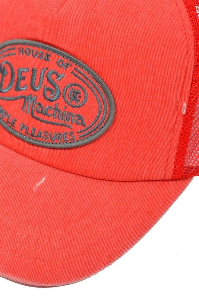 Charlie trucker main rage - cap red 015 - Deus