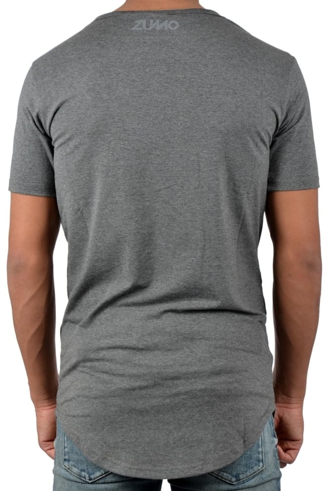 Zumo long t-shirt s/s 011/anthracite 016 - Zumo International
