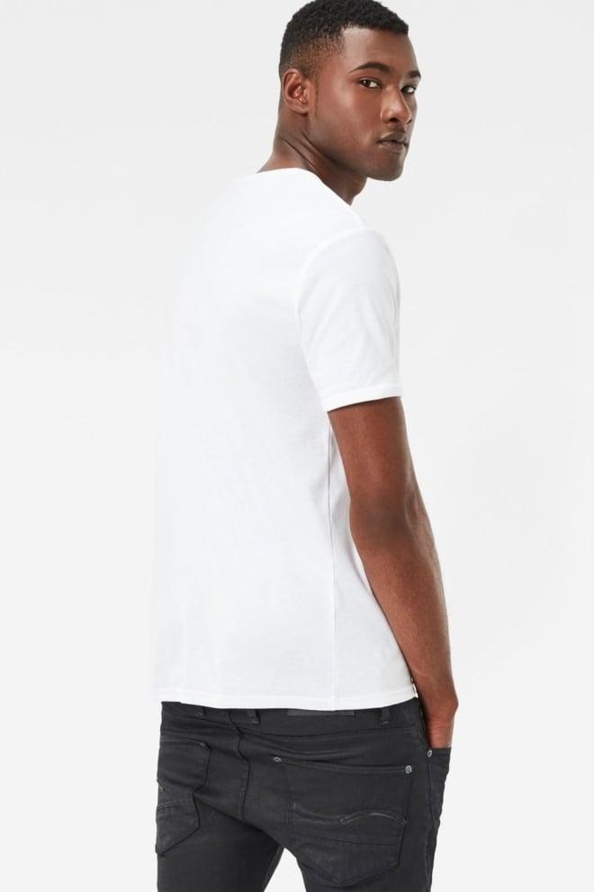 Basic 2-pck white r-neck 110/white 016 - G-star Raw