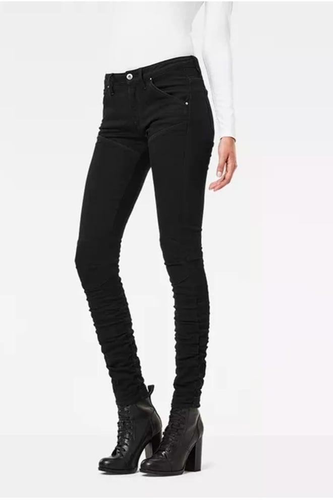 5620 g-star elwood staq 3d mid waist skinny jeans - G-star Raw
