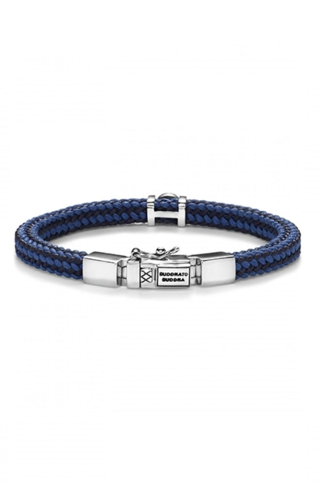 Denise cord bracelet mix blue - Buddha To Buddha