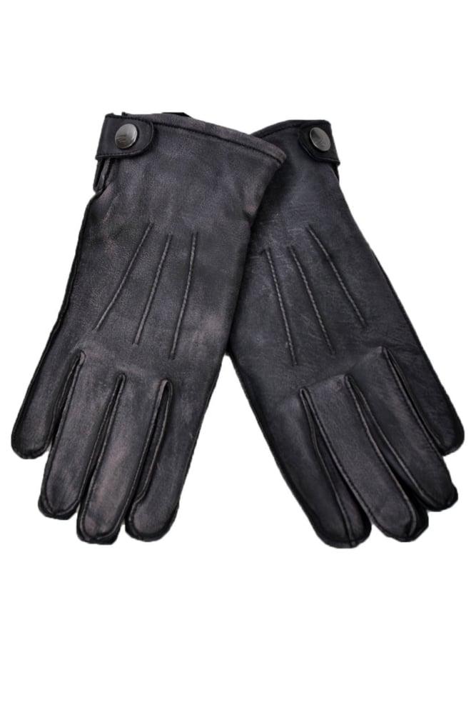 Goosecraft gloves vintage black - Goosecraft