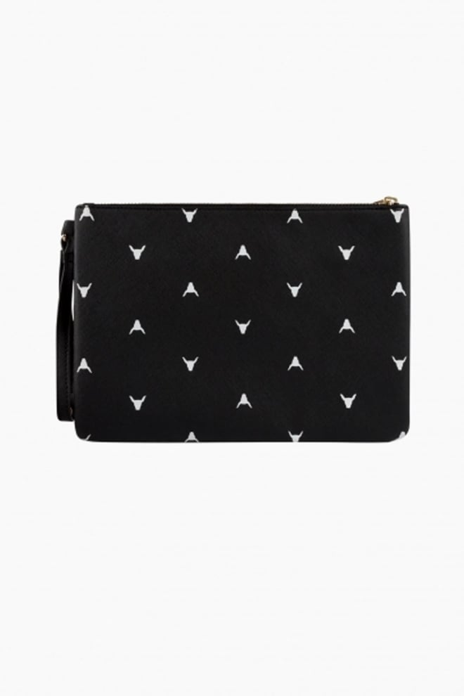 Alix bull clutch black - Alix