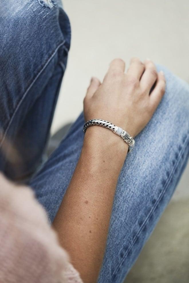 Buddha to buddha ben xs stone bracelet blue lace agate size e - Buddha To Buddha