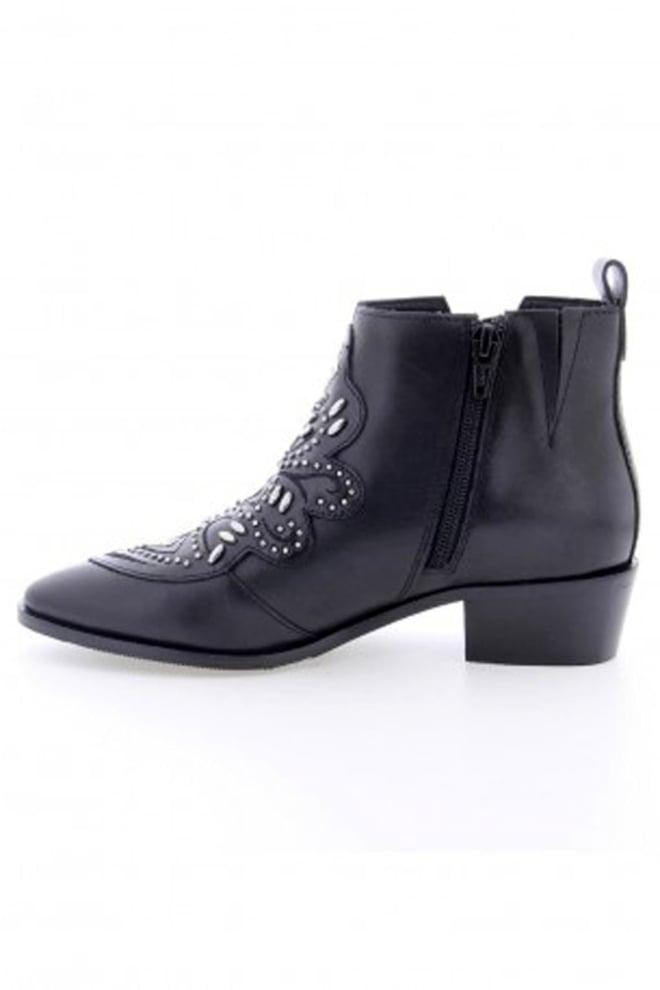 Bronx shoes chunky shoes black - Bronx Shoes