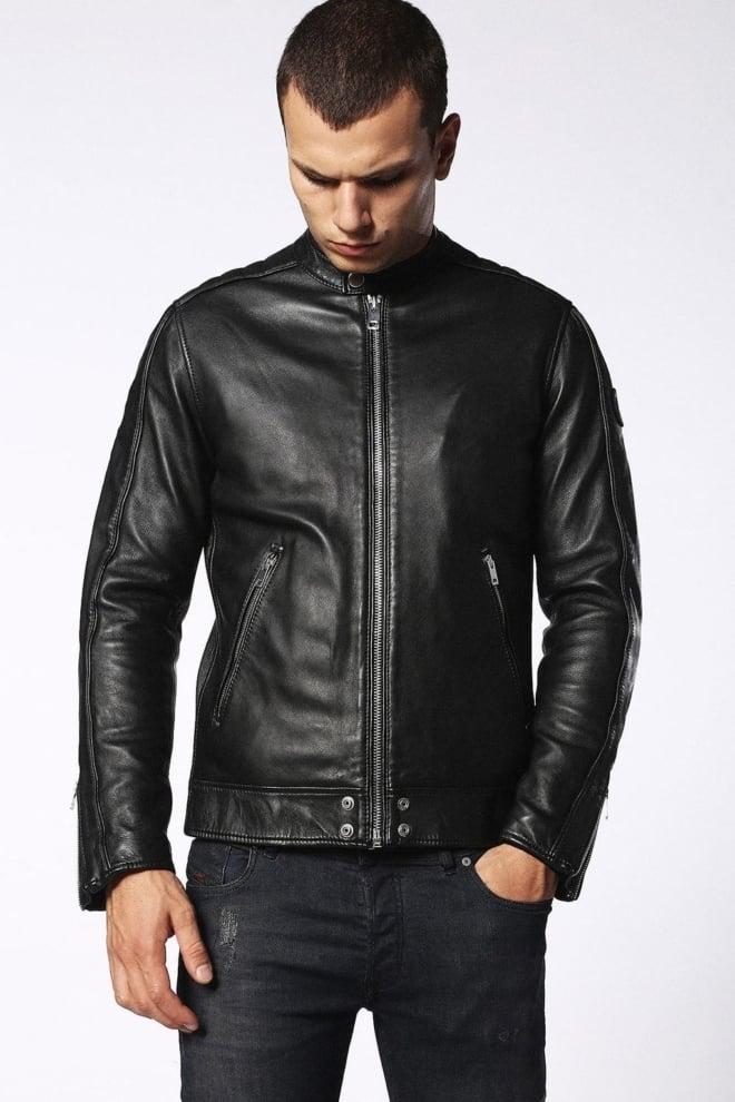 Diesel l-quad leather jacket - Diesel