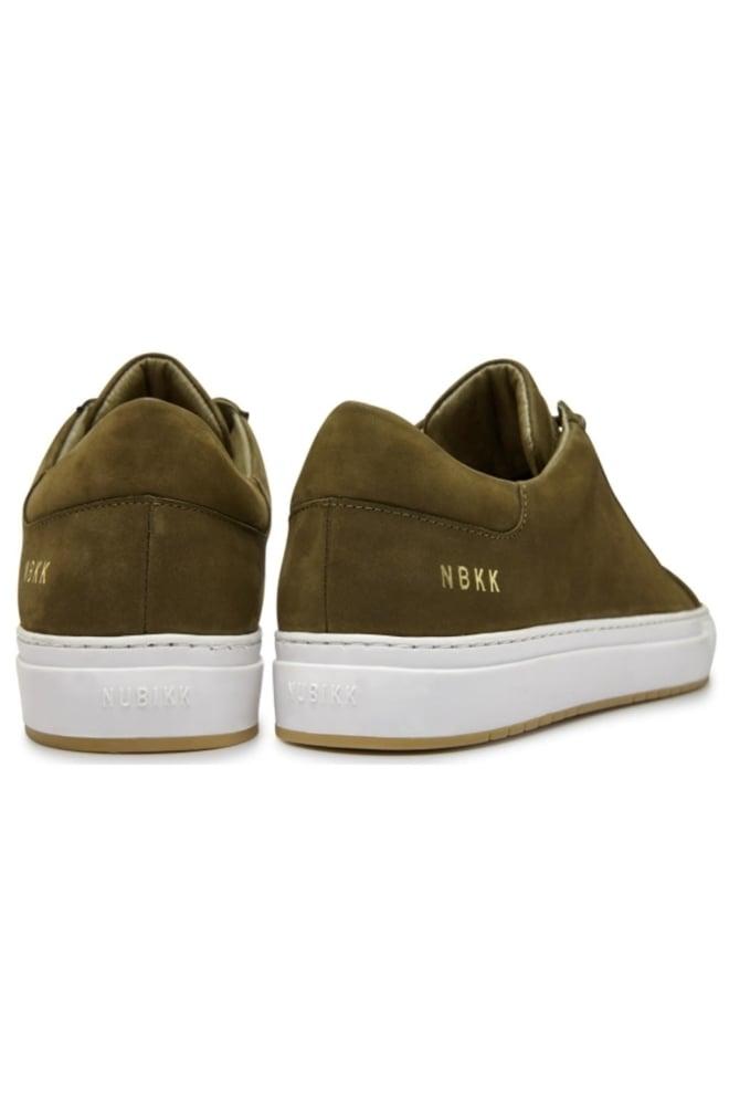 Nubikk pure miele nubuck sneaker dark green - Nubikk