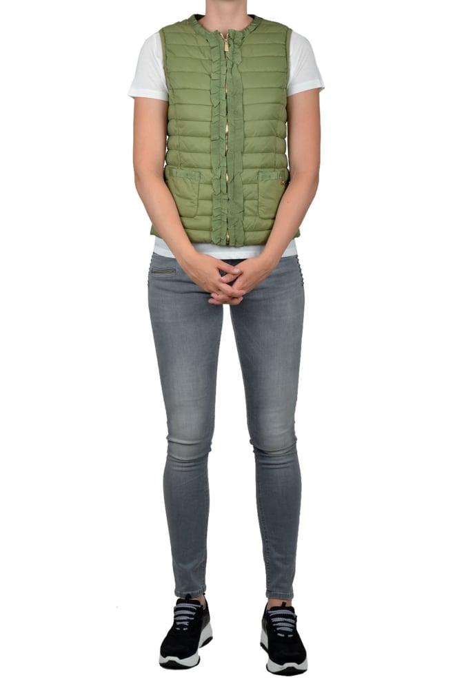 Gaudi sleeveless vest green - Gaudi