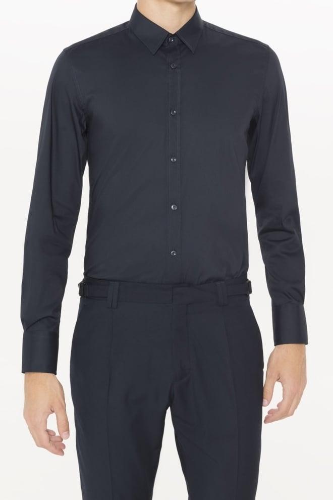 Antony morato super slim fit shirt deep blue - Antony Morato