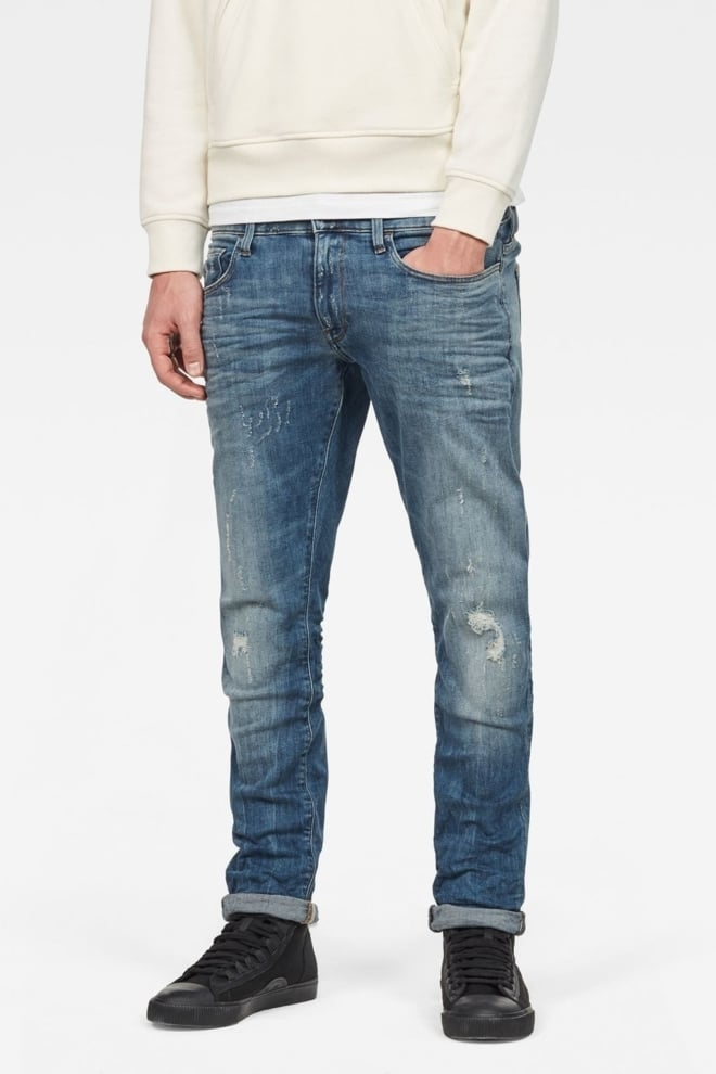 G-star raw deconstructed super slim jeans vintage - G-star Raw