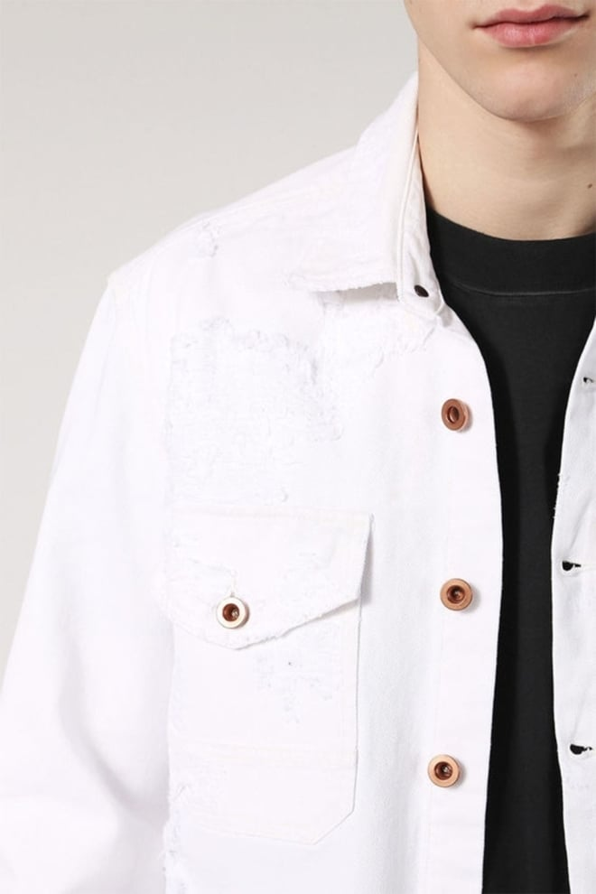 Diesel d-elove jacket white - Diesel