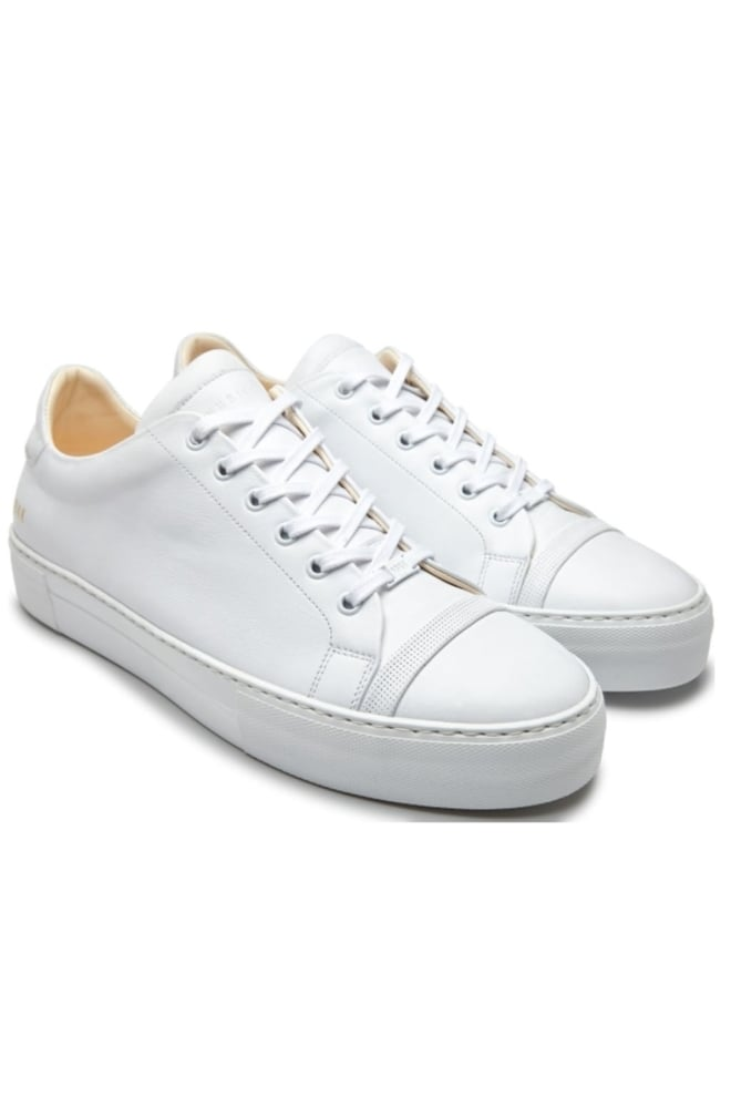 Nubikk jagger joe sneaker leather white - Nubikk