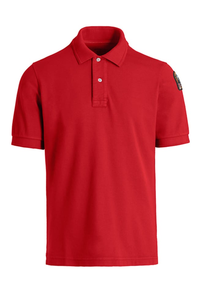 Parajumpers patch polo tomato - Parajumpers