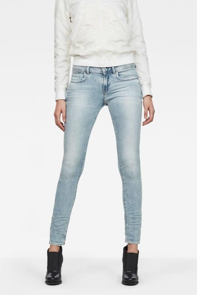 Lynn mid waist skinny jeans - G-star Raw