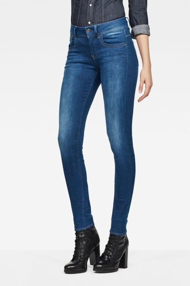 G-star lynn mid-waist skinny jeans - G-star Raw