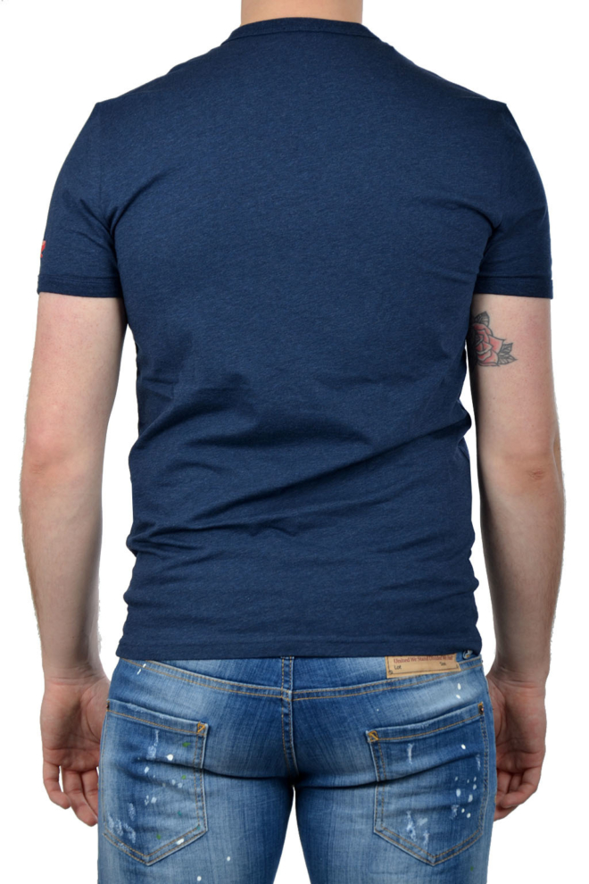 Dsquared2 t-shirt blue - Dsquared