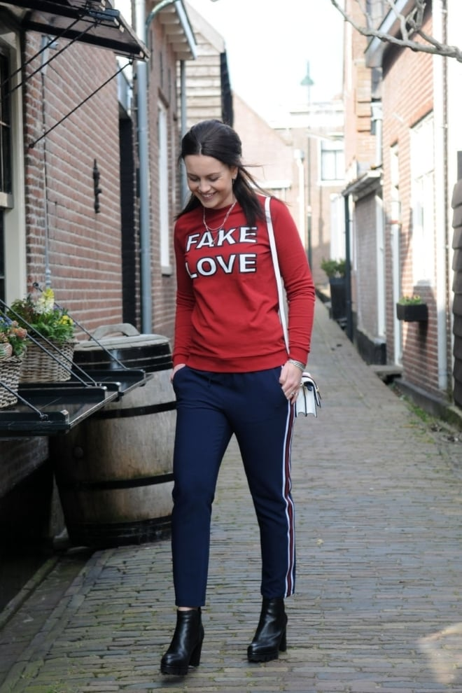 Nikkie by nikkie fake love sweater wine - Nikkie By Nikkie
