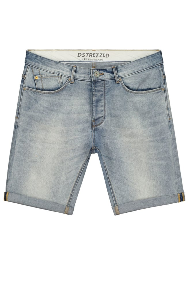 Dstrezzed james b shorts denim sun bleached - Dstrezzed