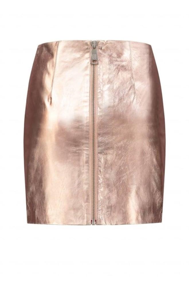 Nikkie by nikkie mazie skirt skin metallic - Nikkie By Nikkie
