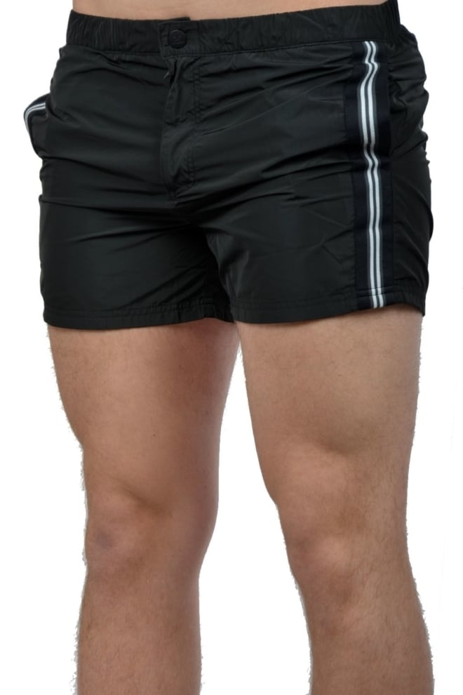 Airforce swimshort tape black - Airforce