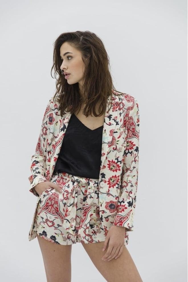 Alix flower printed blazer - Alix The Label