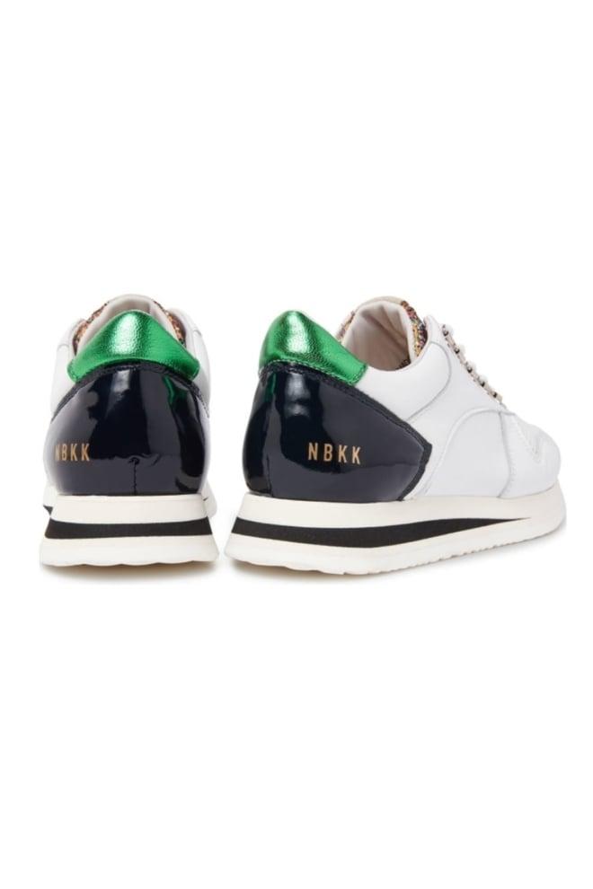 Evi jaw white sneaker - Nubikk