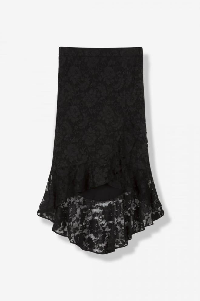 Alix lace skirt black - Alix The Label