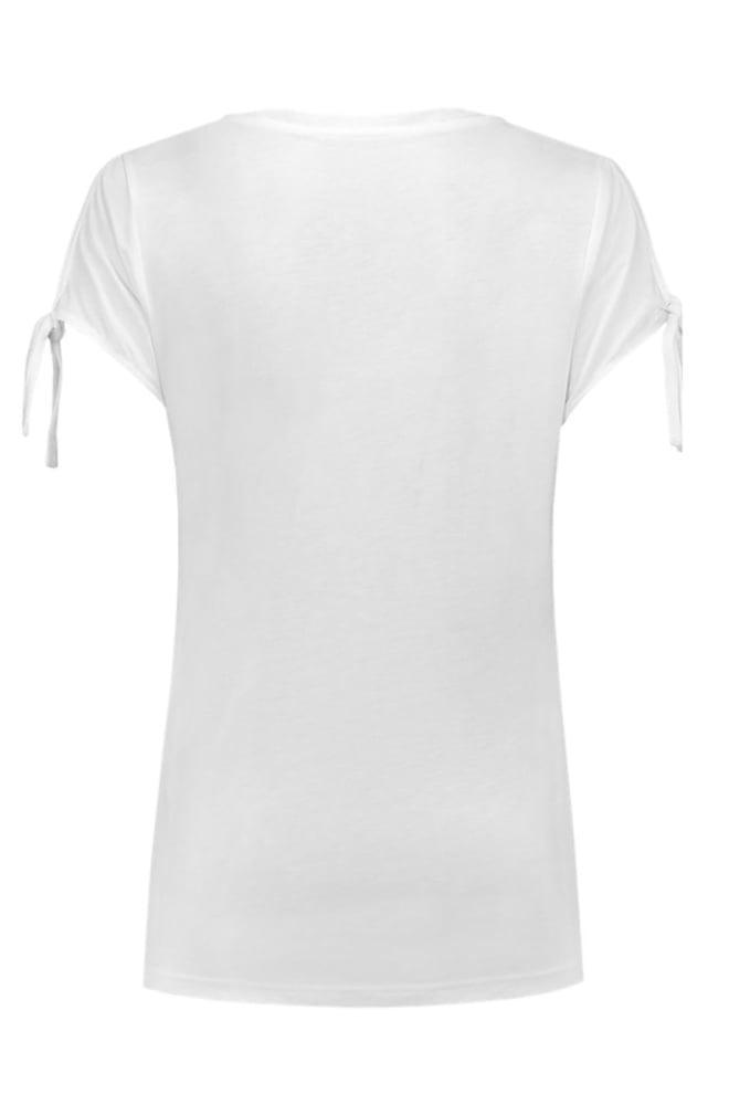 Aaiko rebe t-shirt crispy white - Aaiko