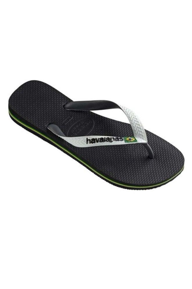Havaianas brasil slippers black/white - Havaianas