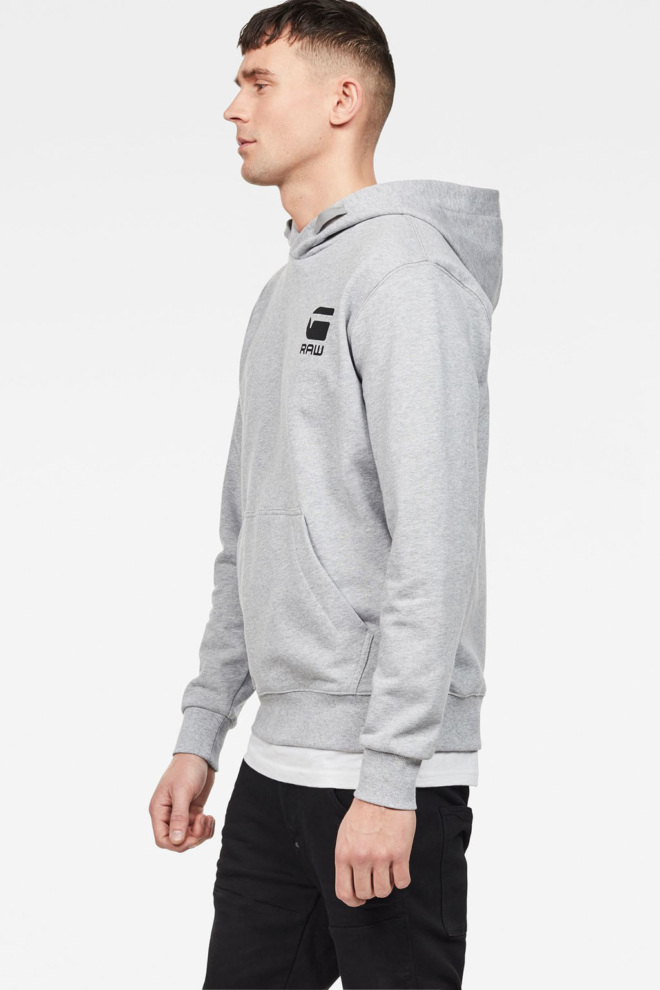 G-star raw doax hooded sweater grey - G-star Raw
