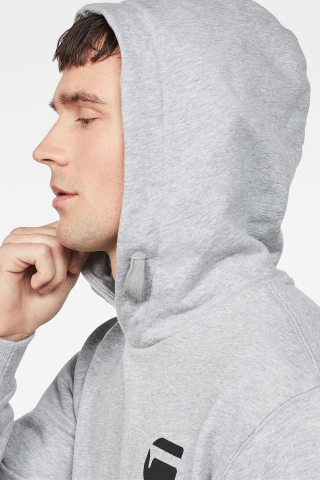 G-star raw doax hooded sweater grey - G-star Raw