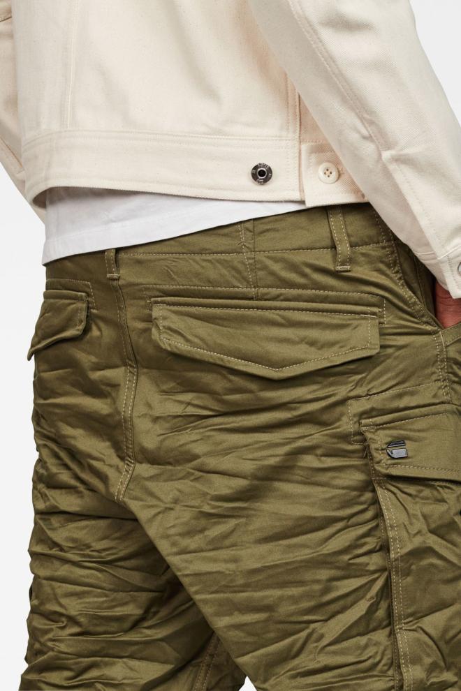 G-star raw rovic zip loose 1/2-length short green - G-star Raw