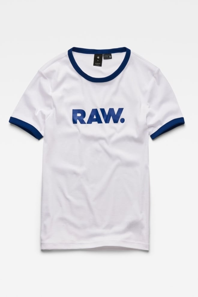 G-star raw xemoj slim t-shirt white - G-star Raw