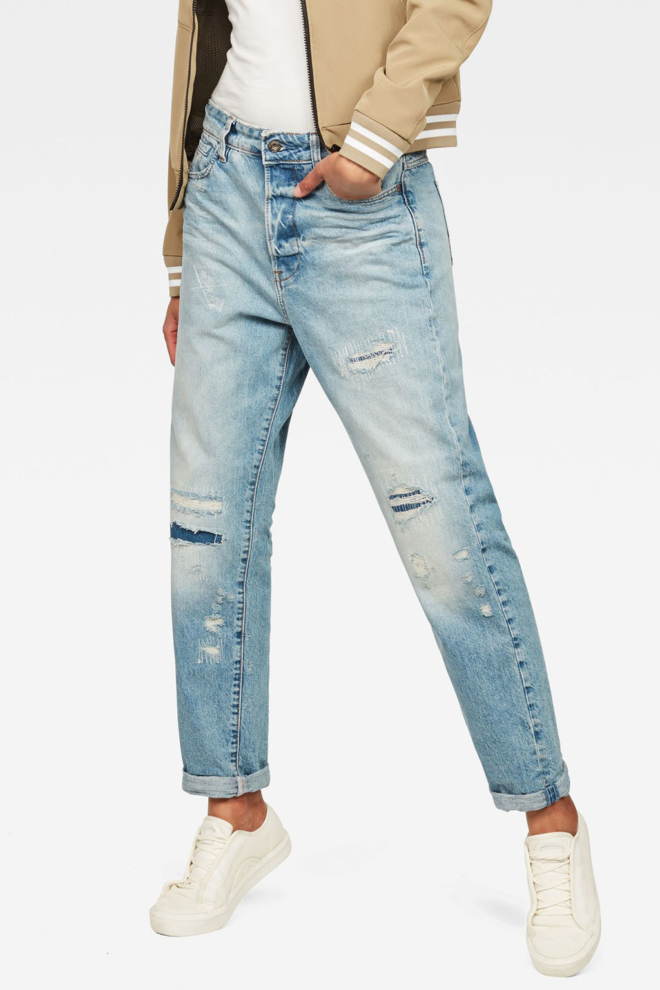 G-star raw midge saddle high waist boyfriend jeans - G-star Raw