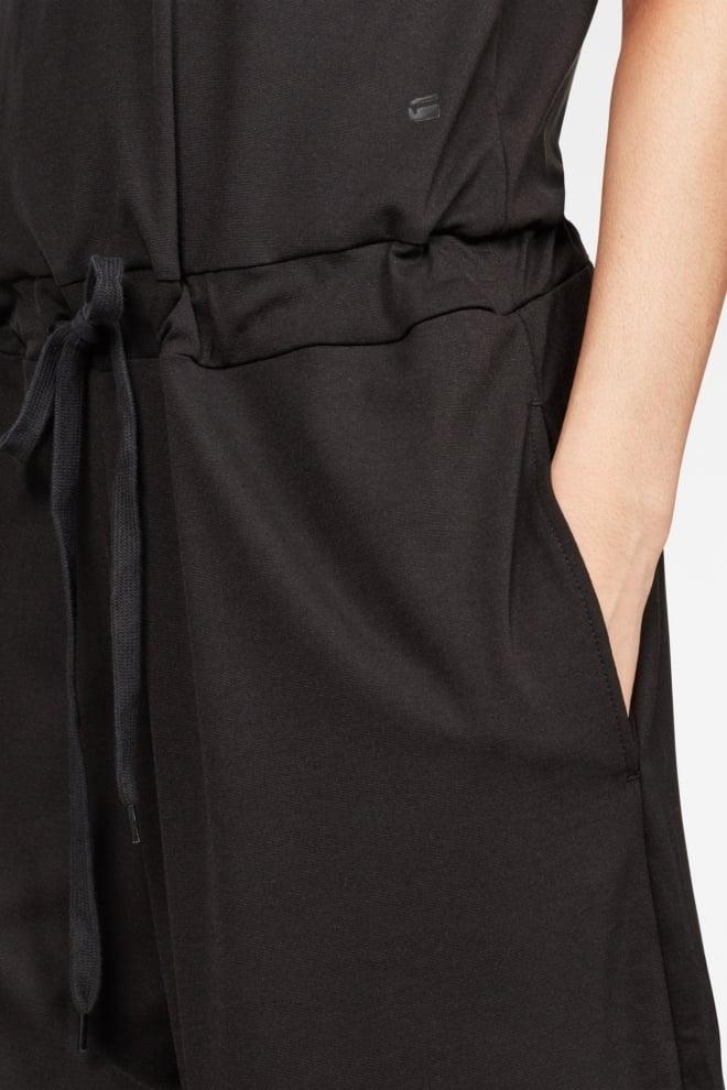 G-star raw correct v-neck sleeveless jumpsuit black - G-star Raw