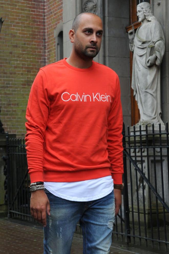 Calvin klein flame scarlet sweater - Calvin Klein