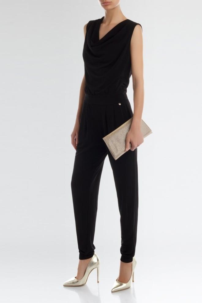 Rinascimento jumpsuit black - Rinascimento