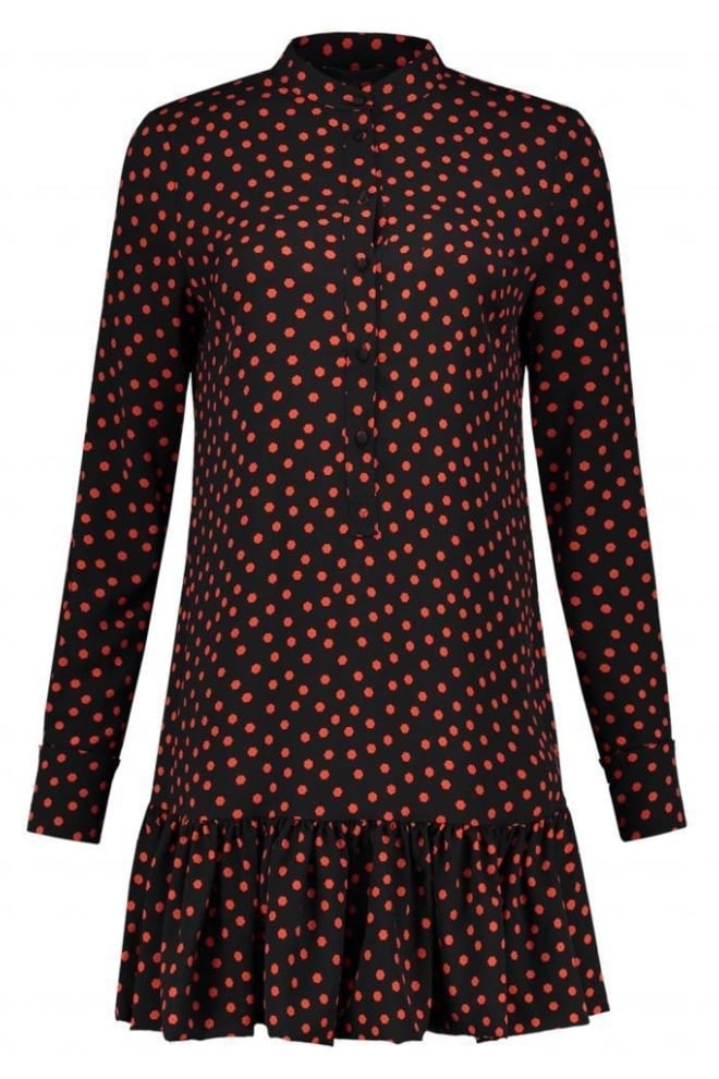 Nikkie by nikkie rush dress black/coral - Nikkie By Nikkie