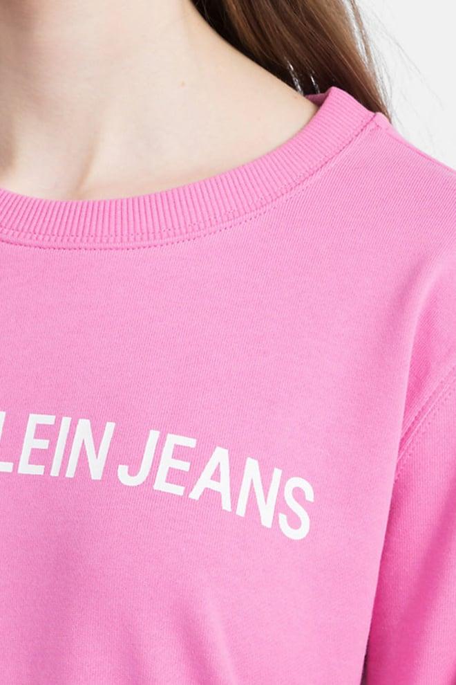 Calvin klein sweatshirt met logo wild orchid - Calvin Klein