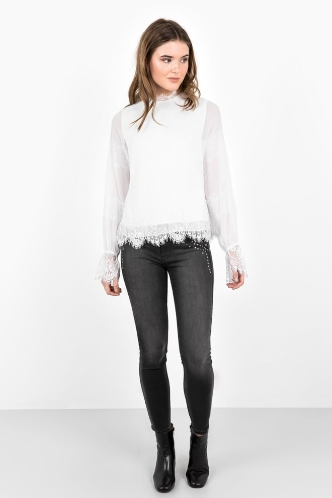 Tigha kimiko blouse off white - Tigha