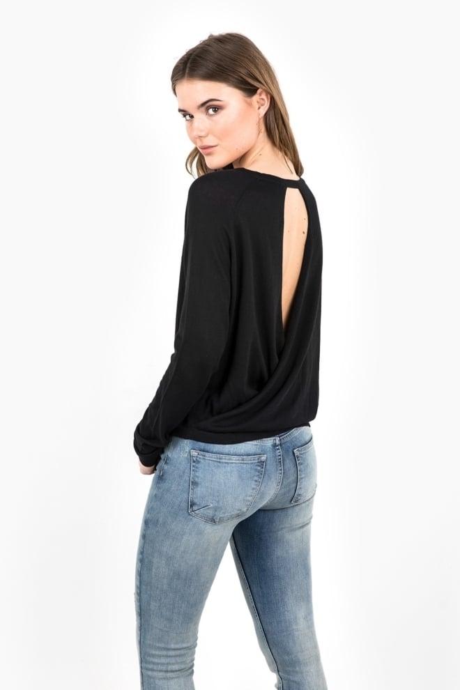T-shirt tigha lacy black - Tigha