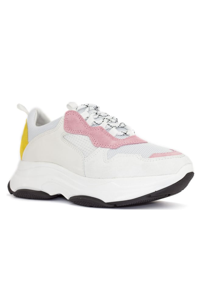Deabused dad sneaker leather multi - Deabused