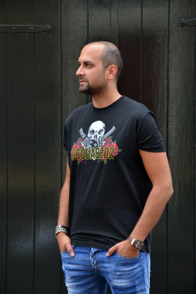 Dsquared t-shirt black - Dsquared