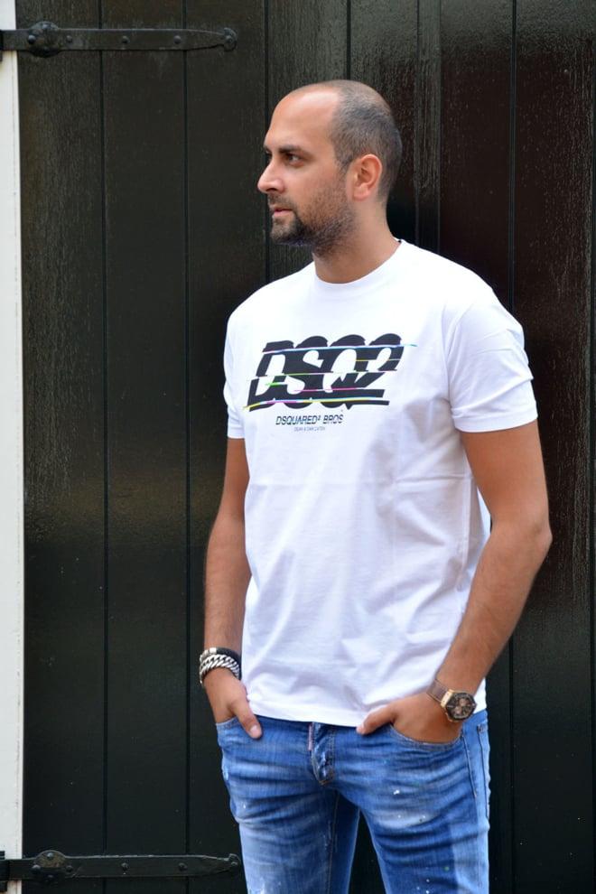 Dsquared t-shirt white - Dsquared