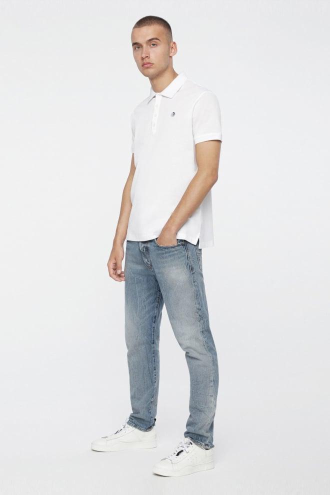Diesel t-weet polo shirt white - Diesel