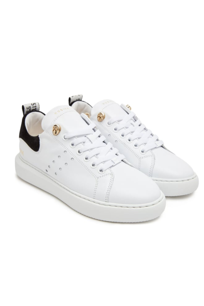 Nubikk rox calf white leather - Nubikk