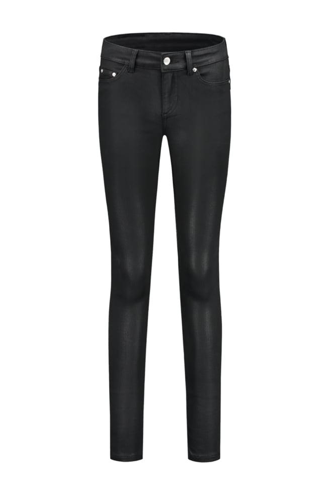 Nikkie by nikkie betty coated skinny jeans black - Nikkie By Nikkie