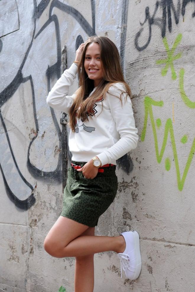 Nikkie birdy leopart skirt - Nikkie By Nikkie