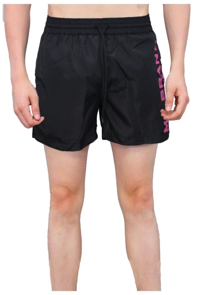 My brand logo swimshort black - My Brand